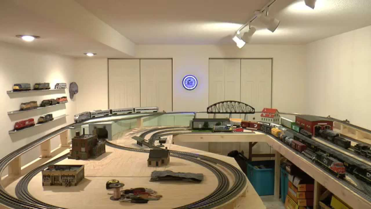 O Scale Mth Train Layout Number 2 Youtube