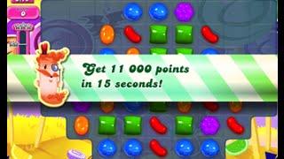 Candy Crush Saga Level 297 walkthrough (no boosters)