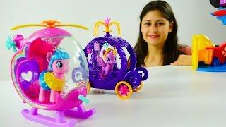 my little pony trke pinkie pie ve twilight sparkle oyun parkında ocuk iin video