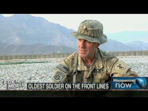 Oldest U S  Soldier On The Front Lines