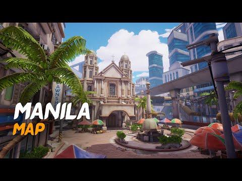 Manila Map - Unreal Engine 4 | Overwatch Inspired