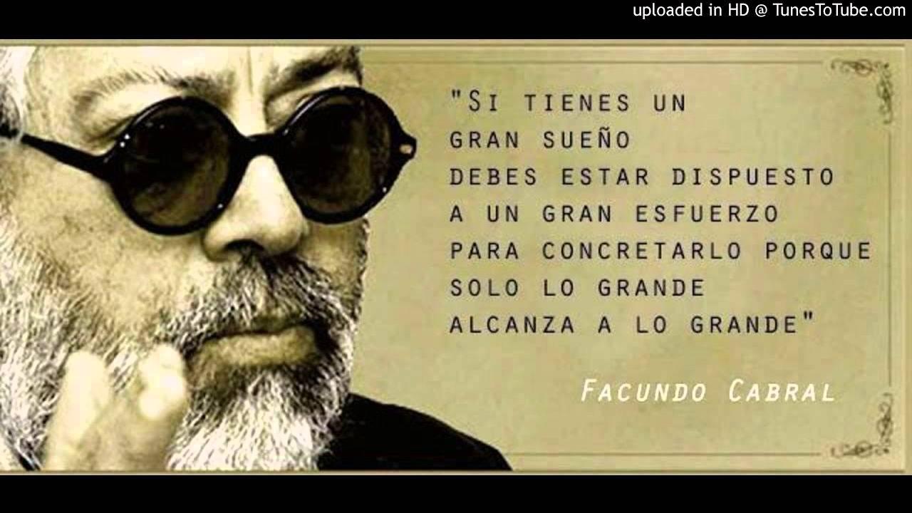 Tunes To Tube >> El oficio de cantor-Facundo Cabral - YouTube