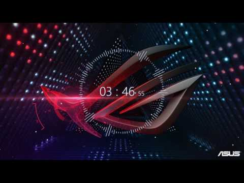 4K Wallpaper Engine with Audio Visualizer ft Asus ROG wallpaper