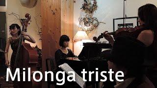 タンゴ コントラバス奏者・𠮷田水子がプロデュースしたライブの録音をお...