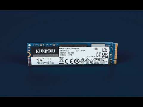 Kingston NV1 1TB NVMe M.2 2280 PCIe 3.0 x4 (SNVS/1000G)