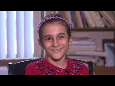 Syrian refugee shares her American dream