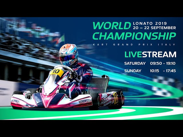 FIA Karting World Championship 2019 KZ / KZ2 / Academy Lonato Saturday