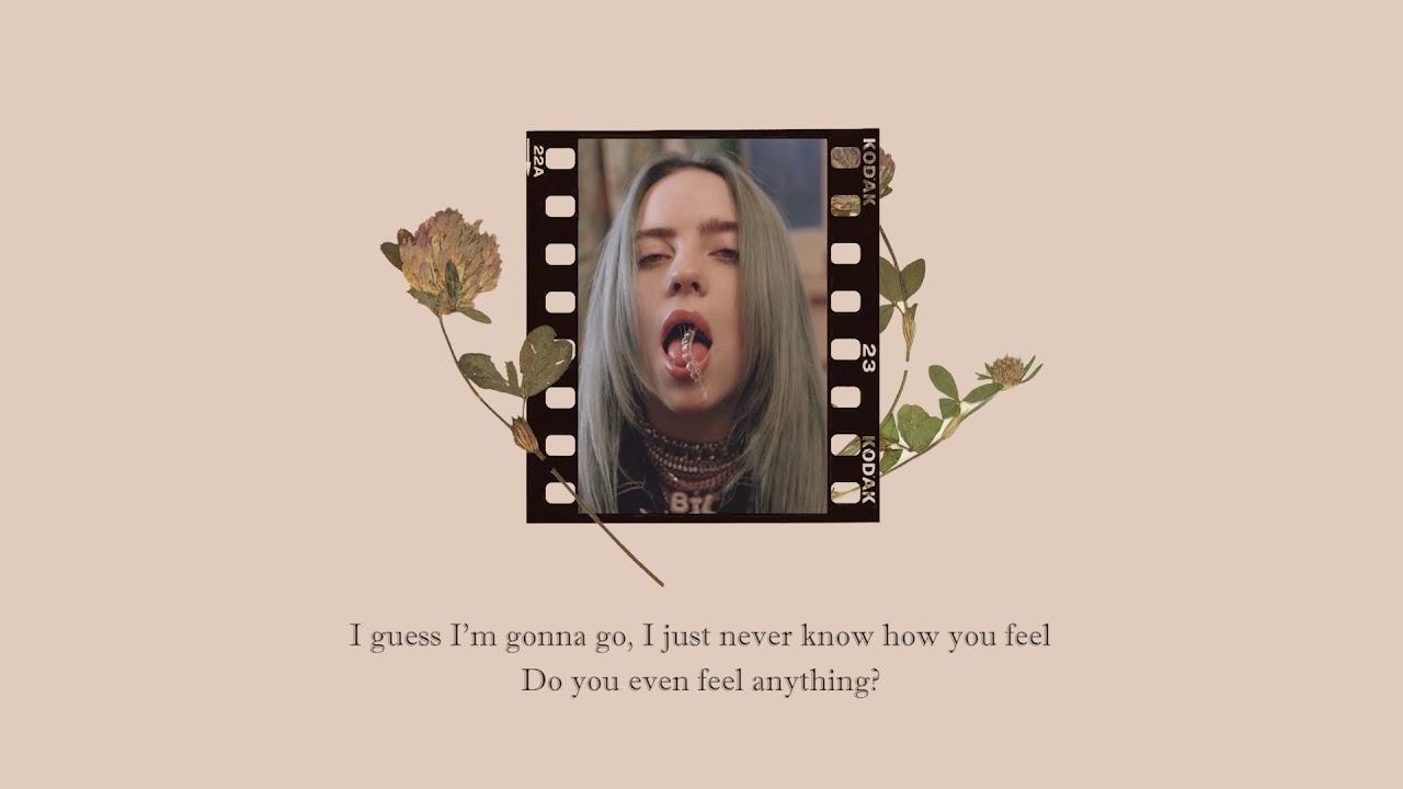 8 Lyrics Billie Eilish Youtube