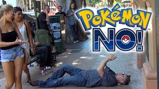 Pokemon Go PRANKS!  Plus I'm no longer a Pokemon Virgin!