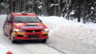WRC Rally Sweden 2011 -  SS Rämmen 7  - Mentos in the snow - AEL Sweden Fans