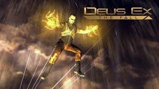 Literally Falling -  Deus Ex: The Fall - Intro Gameplay