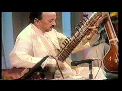 superb sitar maestro ustad abdul latif khan live on raag rang