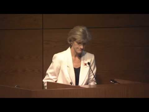 Nebraska Lecture: Ready for School Ready for Life, Susan Sheridan