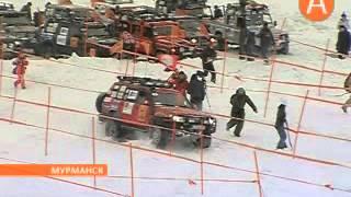 Экспедиция трофи 2013 Мурманск(Сюжет телеканала