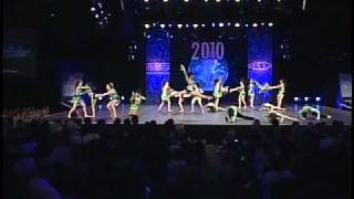 Dance Worlds 2010: PACE Elite Intl Open Jazz Champions! (USA)