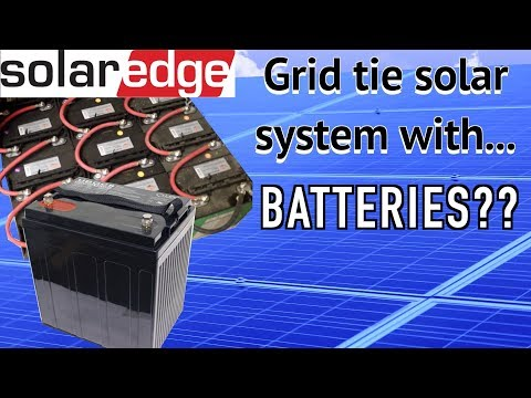 The BEST way to add batteries to a grid tied solar system.  Part 3, FarmCraft101 solar