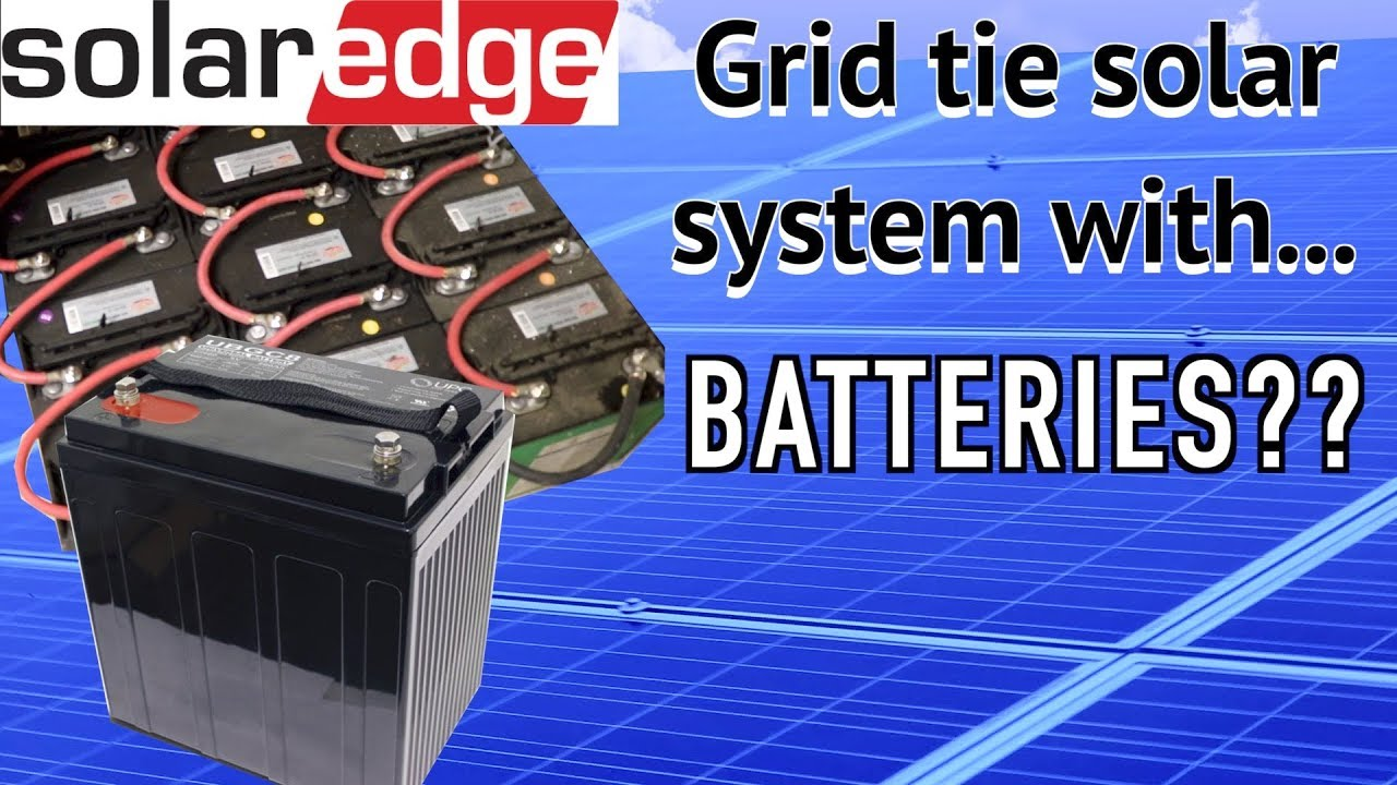 The Best Way To Add Batteries To A Grid Tied Solar System