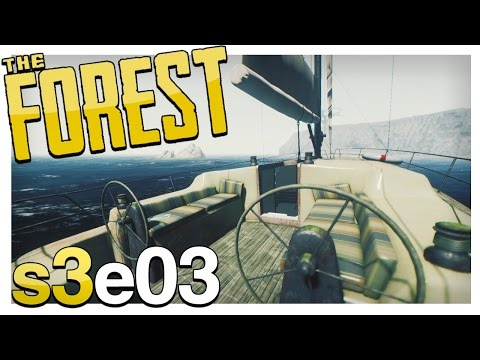 UPDATE! NEW YACHT, BONE FENCE & BURNABLE CANNIBALS | The Forest Gameplay S3E03 (Alpha v0.30)