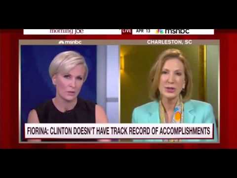 Carly Fiorina is Destroyed