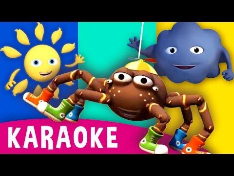 Itsy Bitsy Spider | Incy Wincy Spider | Karaoke Kids Songs & Nursery Rhymes