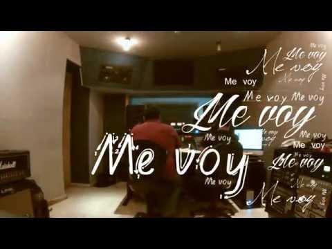 Magno - Me Voy (Lyric Video) OFICIAL