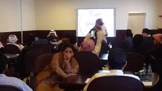 الطالب المدرب متعب الدهيمان بمدارس الرواد بريدة مع طلاب مدارس منطقة القصيم القسم المتوسط