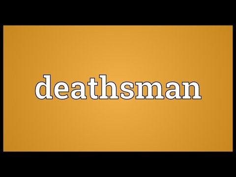 Header of deathsman