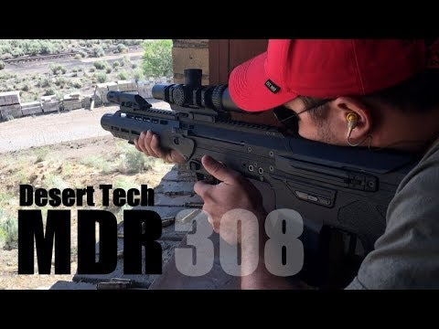 Tomorrow's Weapons - Shooting the Desert Tech MDR in 308/762