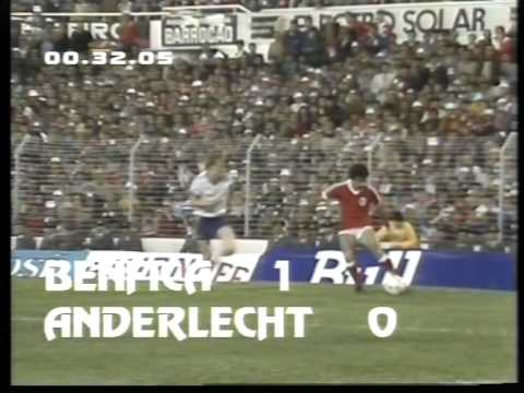18/05/1983 Benfica v Anderlecht