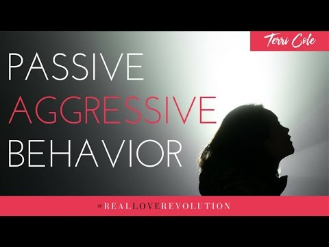 How to Manage Passive Aggressive Behavior pt 1 Terri Cole Real Love Revolution