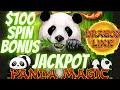 🤑 HUGE JACKPOT $100 SPIN ON PANDA MAGIC DRAGON CASH SLOT MACHINE HIGH LIMIT LIVE PLAY IN LAS VEGAS
