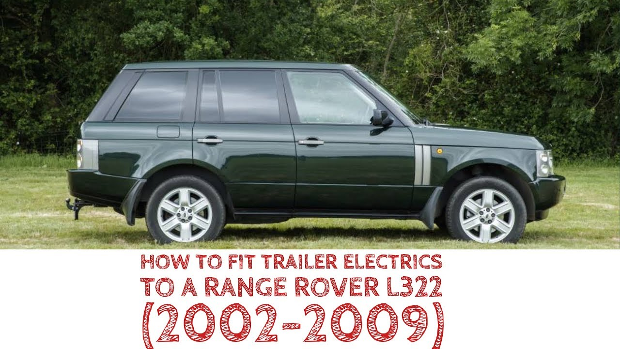 on range rover l322 trailer wiring harness