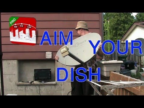 HOW TO AIM YOUR SATELLITE DISH