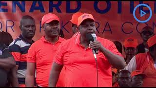 Makadara MP George Aladwa sends warning shot to IEBC, says commission must conduct fair by-election Video