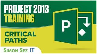 Microsoft Project 2013 Training - Critical Paths