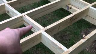 Do It Yourself Shed - Shed Floor