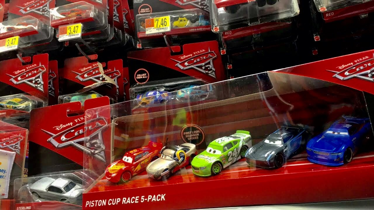 Cars 3 Toys Cars Walmart Live Toy Hunt Thomas Friends