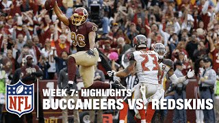 Buccaneers vs. Redskins | Week 7 Highlights | NFL