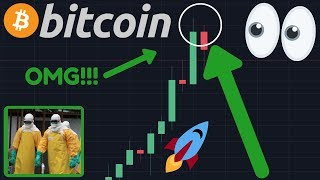 WOW!! BITCOIN PUMPING RIGHT NOW WHILE STOCKS ARE CRASHING DUE TO CORONAVIRUS FEAR!!