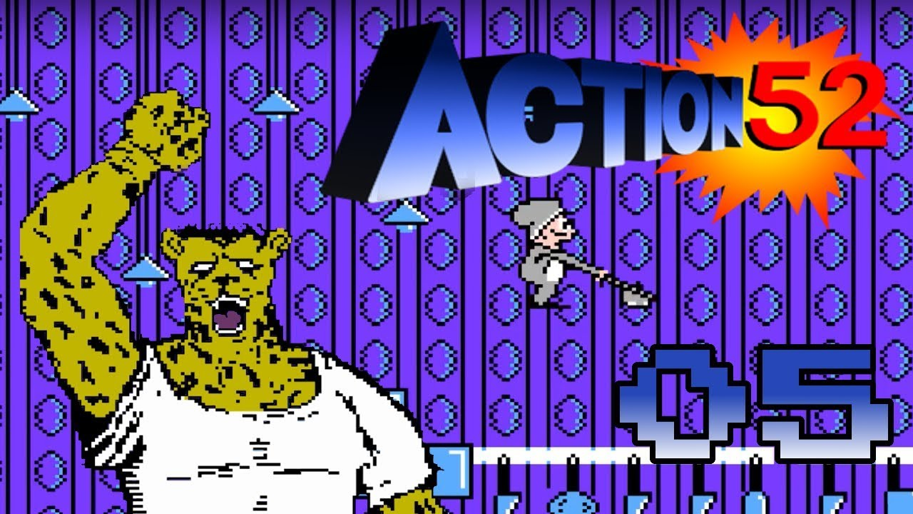 Action 52 Nes German Blind 100 05 Tolle Glitches In Der Kuche