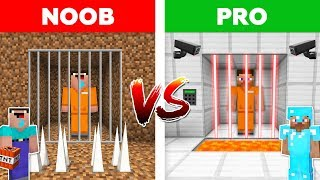Minecraft NOOB vs PRO: PRISON ESCAPE / Minecraft animation