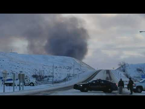 Structure Fire West of Havre, MT