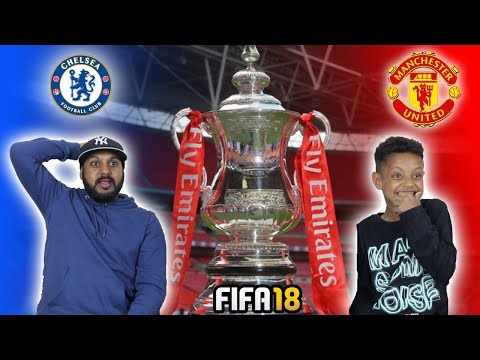 CHELSEA VS MANCHESTER UNITED!! FA CUP FINAL 2018!!