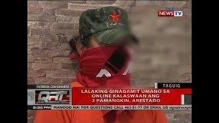 Lalaking ginagamit umano sa online kalaswaan ang 2 pamangkin, arestado