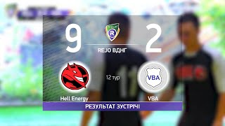 Обзор матча Hell Energy 9 2 VBA Турнир по мини футболу в городе Киев