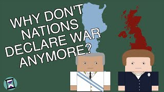 Why don't Countries Formally Declare War Anymore? (Short Animated Documentary)