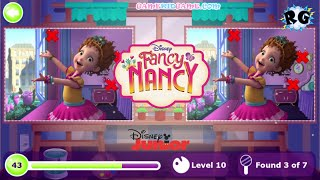 Fancy Nancy Clancy - Encuentra las diferencias / Find the differences - Disney Junior