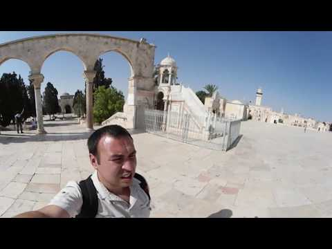 From Al-Aqsa Mosque to Dome of the Rock with gear 360