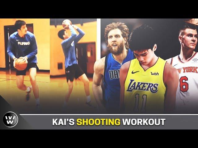 Hanep na ang Shooting Skills ni Kai Sotto | Fadeaway ala Dirk | Shooting Workout
