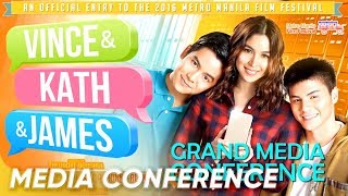 [FULL] 'Vince & Kath & James' Grand Media Conference